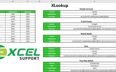 Excel XLOOKUP Function